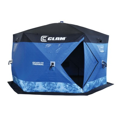 Clam Escape Thermal Hub Ice Shelter
