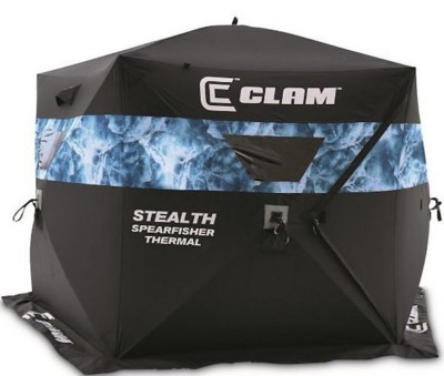 Clam Pop-up Shelter Stealth Spearfisher Thermal