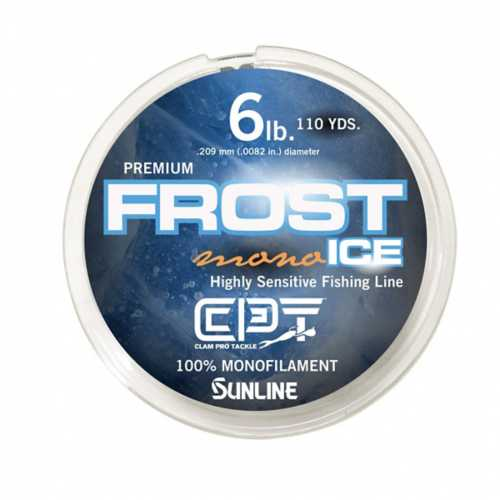 Clam Frost Ice Monofilament Fishing Line