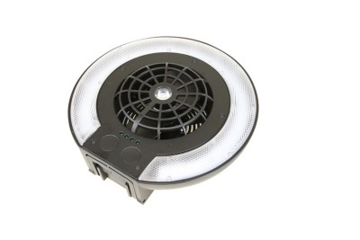 Clam Deluxe Fan and Light Combo