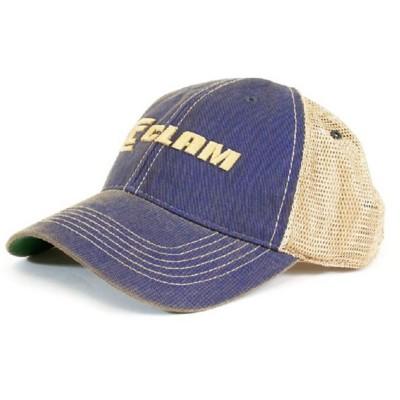 Clam Distressed Trucker Hat' data-lgimg='{