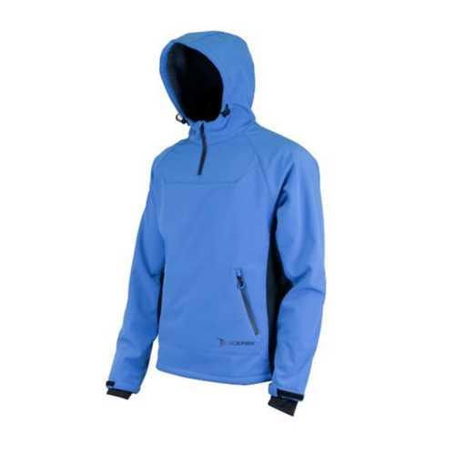 Men's Blackfish Gale Blue Softshell Pullover