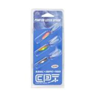 Clam Scheels Exclusive Leech Flutter Spoon 3 Pack