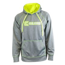 Men's Clam Performance Hoodie Chartreuse