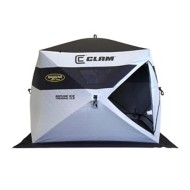 Clam Jason Mitchell Refuge Ice Thermal FLR Hub Shelter
