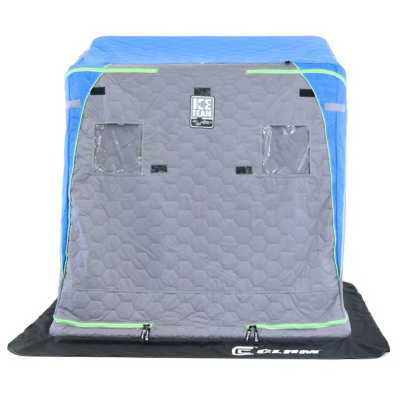 Clam Voyager X Thermal Ice Team Edition Flip Shelter