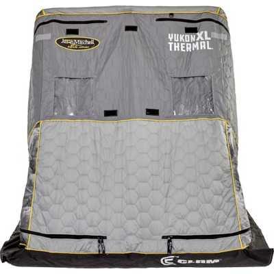 Clam Jason Mitchell Yukon XL Thermal Flip Over Shelter