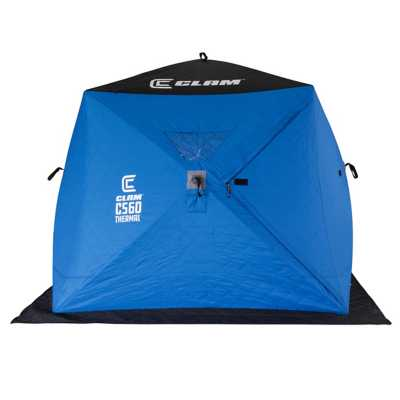 Clam C-560 Thermal Hub Ice Shelter