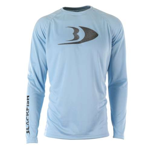 Men's Blackfish CoolCore UPF Guide Long Sleeve Shirt Splash