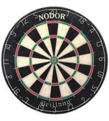 Nordor Brittany Bristle Dartboard