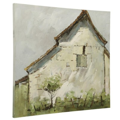 StyleCraft Home Collection Vintage Farmhouse | Original Hand Painted Canvas