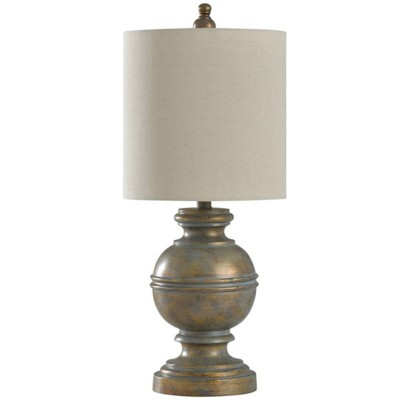 StyleCraft Home Collection Antique Bronze Accent Table Lamp
