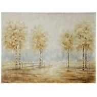 StyleCraft Home Collection Pathy Way Art | Hand Painted Canvas