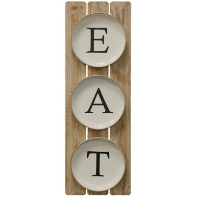 StyleCraft Home Collection Dining Setting | Wooden and Metal Material Wall Hanging