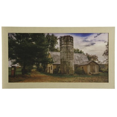 StyleCraft Home Collection The White Barn Wall Art