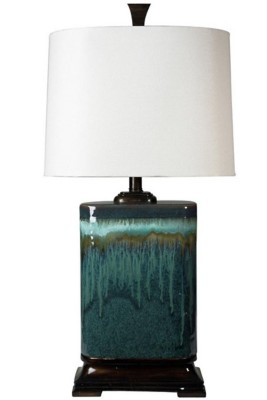 StyleCraft Home Collection Carolina Ceramic Table Lamp