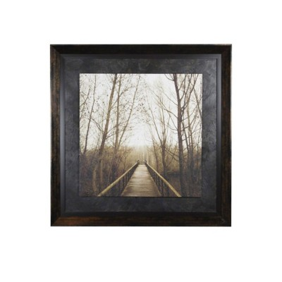 StyleCraft Home Collection Textured Framed Print - Right Here