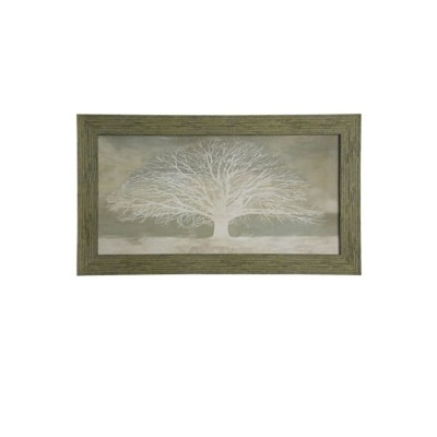 StyleCraft Home Collection Illuminated Tree of Life Textured Framed Print