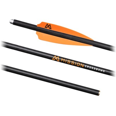 "Mission Archery 22"" Crossbow .003 Bolts"