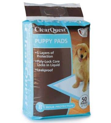 ClearQuest Puppy Pad 50 Pack