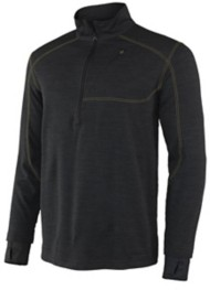Men's Terramar Climasense 4.0 Glacier Fleece HG/TR 1/2 Zip Base Top