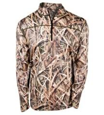 Men's Terramar 3.0 Camo Military Fleece ¼ Zip Top