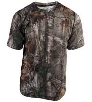 Men's Terramar Camo Performance T-Shirt
