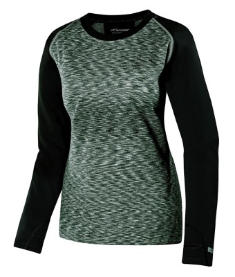 Women's Terramar Melange 3.0 Fleece' data-lgimg='{