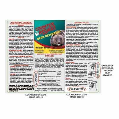 Counter Assault 10.2 oz Bear Deterrent with Belt Holster