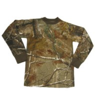 Youth Bell Ranger Camo Long Sleeve T-Shirt