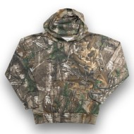 Youth Ranger Pullover Camo Fleece Hoodie
