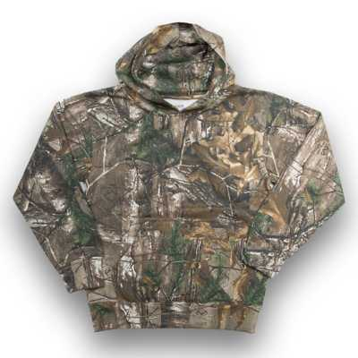 Youth Ranger Pullover Camo Fleece Hoodie
