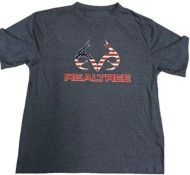 Men's Realtree Logo Short Sleeve Shirt