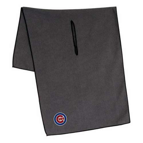 Team Effort Chicago Cubs Waffle Microfiber Golf Towel