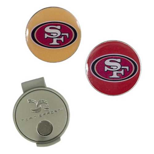 Team Effort San Francisco 49ers Hat Clip and Markers