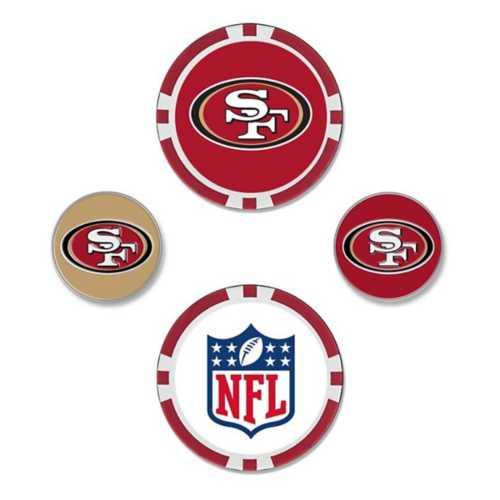 Team Effort San Francisco 49ers Ball Marker Set