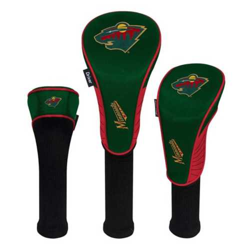 Team Effort Minnesota Wild 3 Pack Headcovers