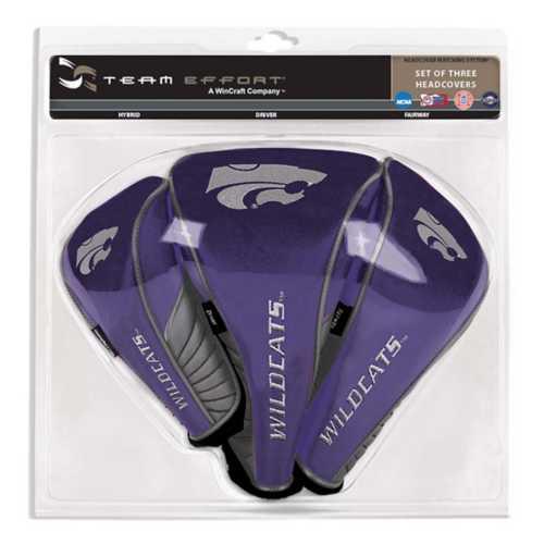 Team Effort Kansas State Wildcats Set of Three Headcovers