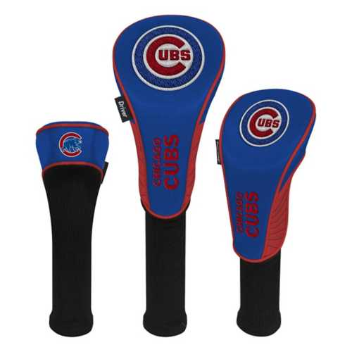 Team Effort Chicago Cubs 3 Pack Headcovers