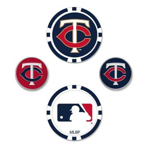 Team Effort Minnesota Twins Ball Marker Set