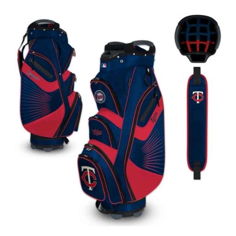 Team Effort Minnesota Twins Bucket II Cart Golf Bag