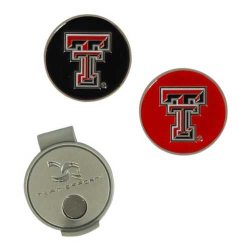 Team Effort Texas Tech Red Raiders Hat Clip and Markers