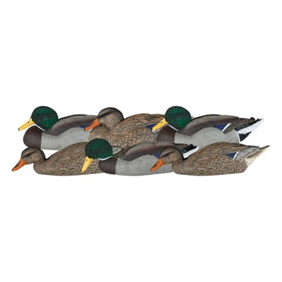 Dakota Decoy X-Treme Mallard Dabbler Decoys 6-Pack