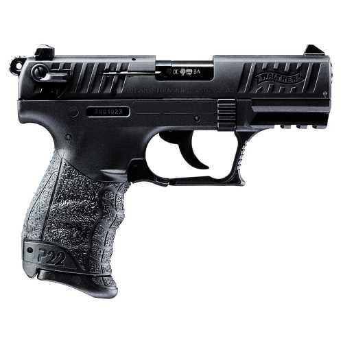 Walther 5120333 P22CA  22 LR BLK          *CA Pistol
