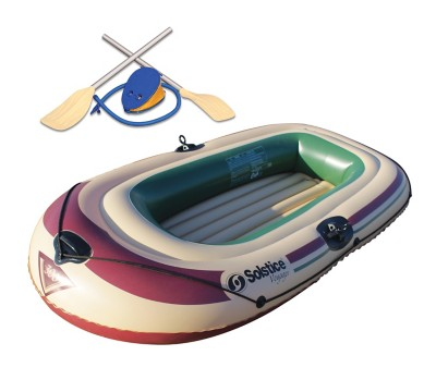Solstice Voyager 4 Person Inflatable Boat Kit' data-lgimg='{