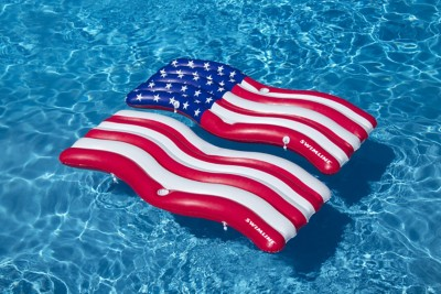 Swimline AmericanaFlag Connector Mat