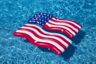Swimline AmericanaFlag Connector Mat