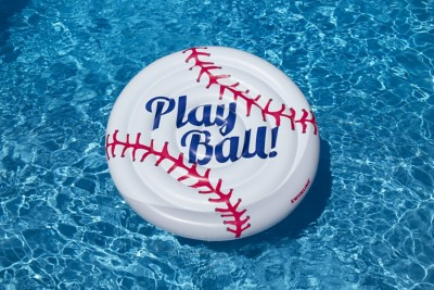 "Swimline 60"" Baseball Inflatable Pool Island"