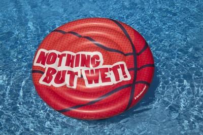 "Swimline 60"" Basketball Inflatable Pool Island"