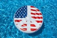 "Swimline 60"" Americana Peace Pool Island"